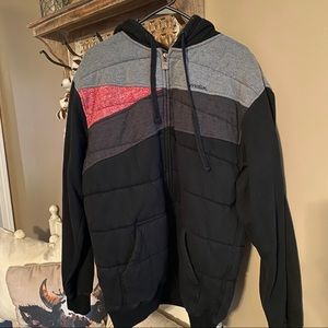 Matix lined hoodie